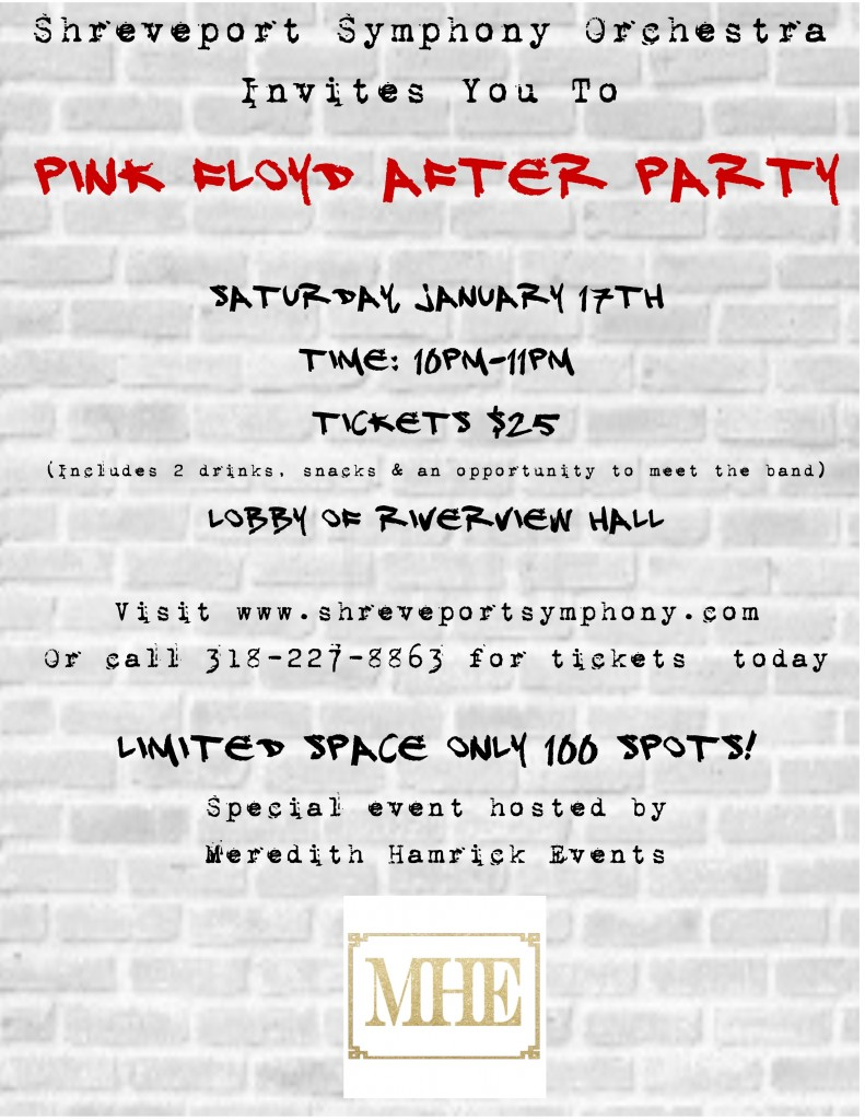 invite to pink floyd